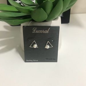 Lucoral Sterling Silver Earrings
